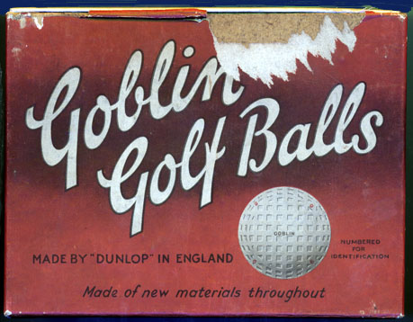 Goblin golf ball box